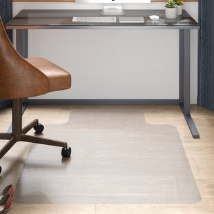 Hard Floor Straight Edge Chair Mat By Floortex
