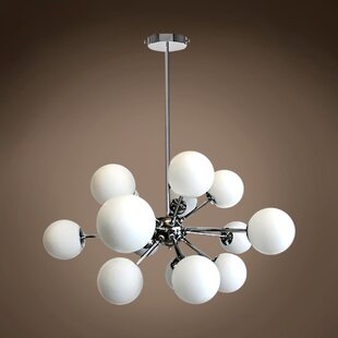 Brayden Studio Kailee 15-Light Sputnik Chandelier