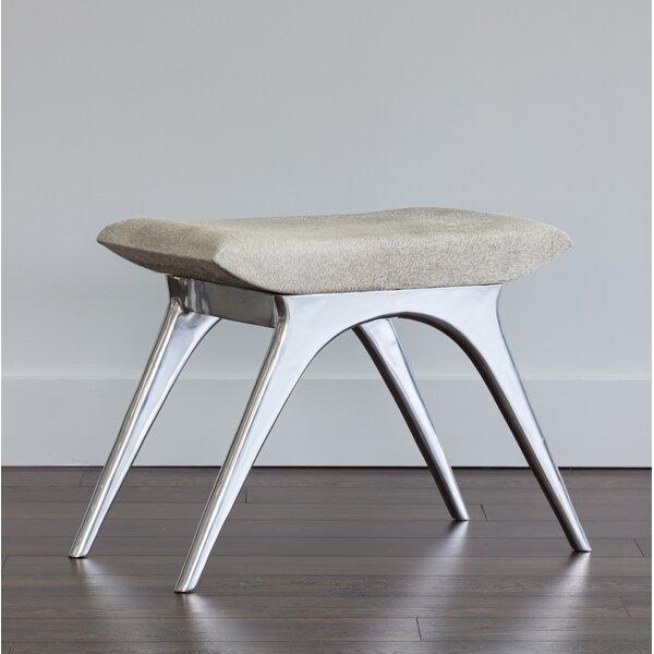 Awe Inspiring Cowhide Ottoman Wayfair Theyellowbook Wood Chair Design Ideas Theyellowbookinfo