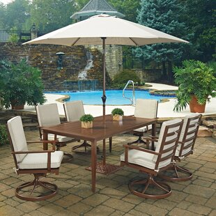 Home Styles Key West 9 Piece Dining Set with Cushion