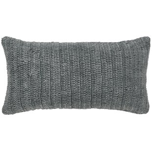 Clio Knitted Cotton Throw Pillow