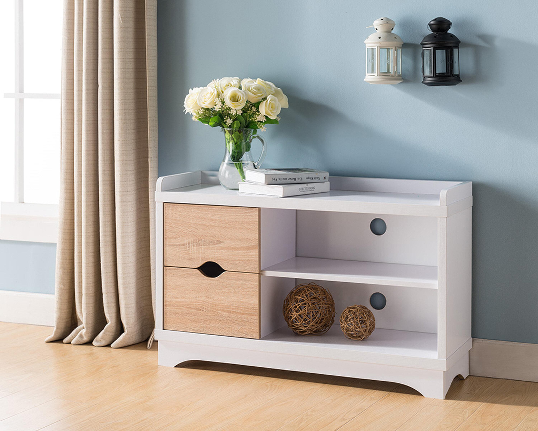 Picture of: Ebern Designs Entry 8 Pair Shoe Storage Bench Wayfair Ca