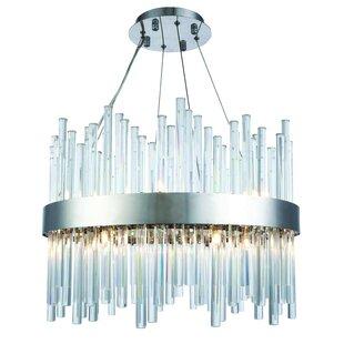 Perlo 14-Light Chandelier by Orren Ellis