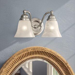 Omaha 2-Light Vanity Light By Andover Mills
