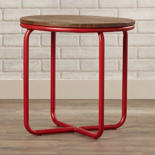 Kori Bunching End Table by 17 Stories