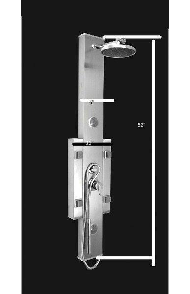 Kokols Bathroom Shower Tower Massage Multi Jets Spa System Panel Diverter U0026  Reviews | Wayfair