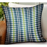 Tardiff Stripes Luxury Indoor/Outdoor Throw Pillow