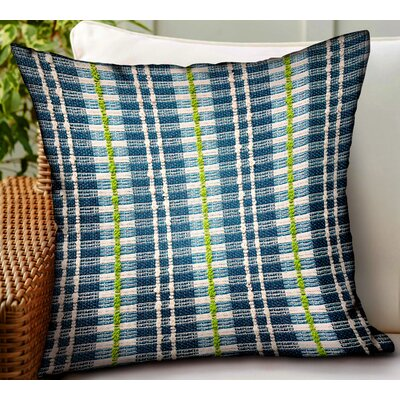 Tardiff Stripes Luxury Indoor/Outdoor Throw Pillow by August Grove 2020 Coupon