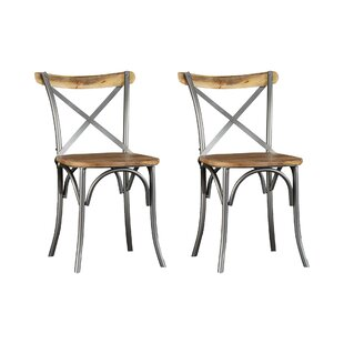 Best Price Zoie Solid Wood Dining Chair (Set Of 6)