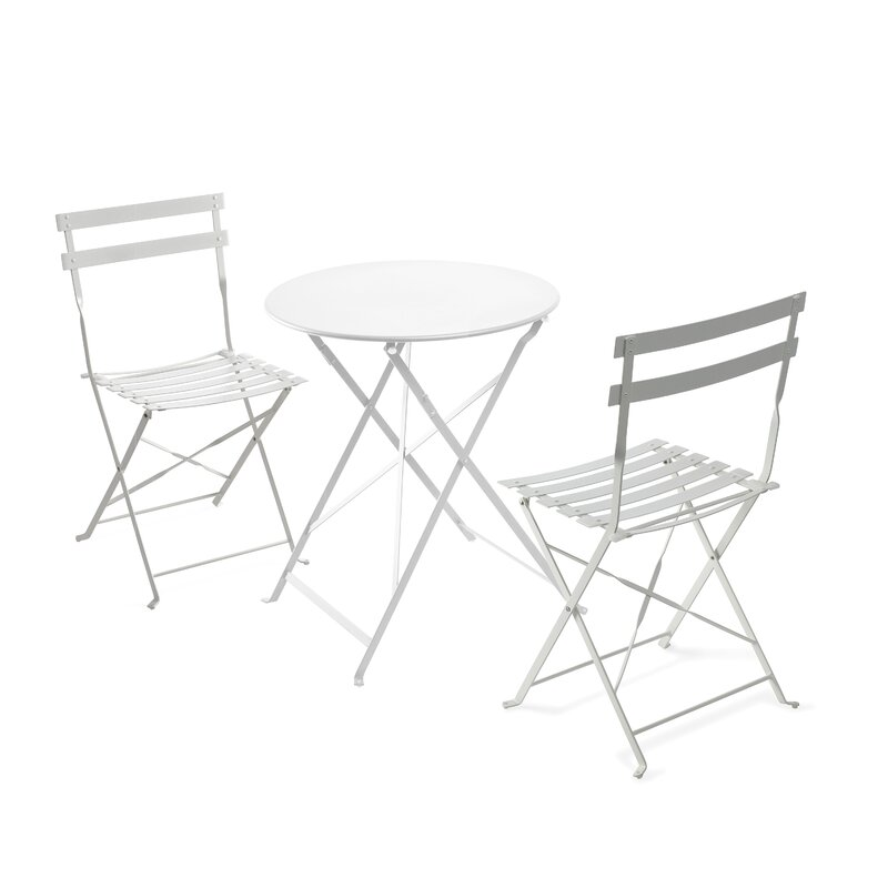 Fennell 3 Piece Patio Table Set
