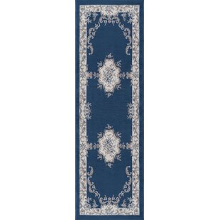 Riter Navy Area Rug by Astoria Grand