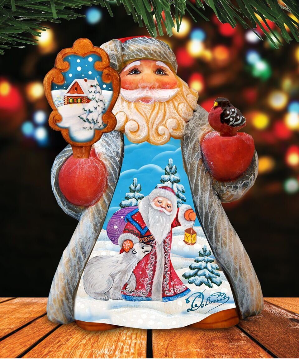 Resin The Holiday Aisle Santa Figurines You Ll Love In 2021 Wayfair