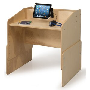 Wood Computer Desk by Symple Stuff
