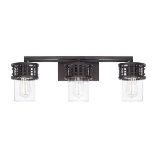 Lark Manor Roulier 3-Light Vanity Light