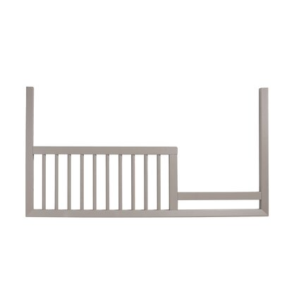 Mack & Milo McPartland Toddler Bed  Rail Color: French Grey