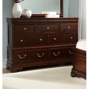 Provence 7 Drawer Media Dresser by Cresent Furniture