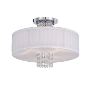 Candence 3-Light Semi-Flush Mount