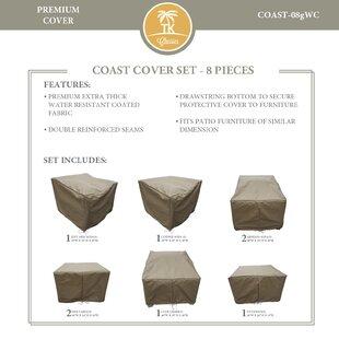 TK Classics Coast 8 Piece Protective Pati..