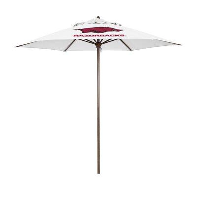 NCAA Licensed Patio Hexagonal 9 Market Umbrella by Astella Best #1