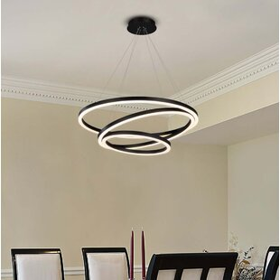 Orren Ellis Rojas WiFi-Enab LED Chandelier