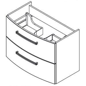 Fackelmann 80,5 cm Waschtisch-Set