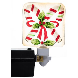 Transpac Christmas Tree and Candy Night Light
