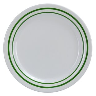 Selsey Round Dinner Melamine Salad Plate (Set of 24)