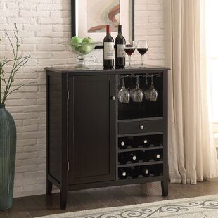 Cabernet Mini Bar with Wine Storage by Homestyle Collection