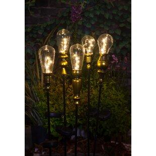Boligee Metallic 1 Light LED Pathway Lights Image