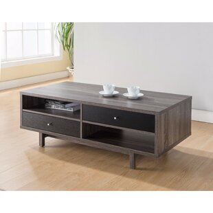 Bushman Well Designed Coffee Table with Customize Decks or Drawers