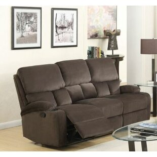 Torgerson Leather Motion Reclining Sofa by Latitude Run