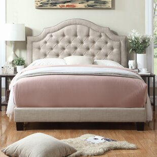 Chugwater Tufted Upholstered Panel Bed