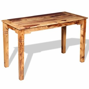 Charlie Solid Sheesham Wood Dining Table By Alpen Home