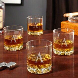 Yogyakarta Personalized 10.25 oz. Whiskey Glass (Set of 4)