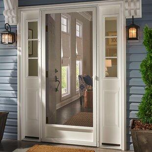 Find the Perfect Screen Doors | Wayfair Installing Storm Door Aluminum Frame on