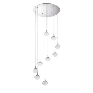 Icicle 9-Light Pendant by Kendal Lighting
