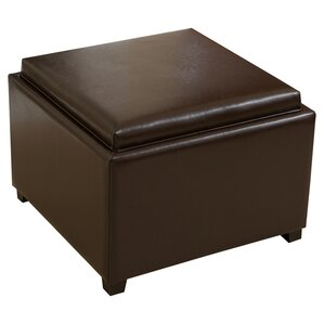 Melbourne Tray Top Ottoman by Home Loft Conc..