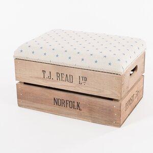 Fußhocker Apple Crate von Tiffany Jayne Designs