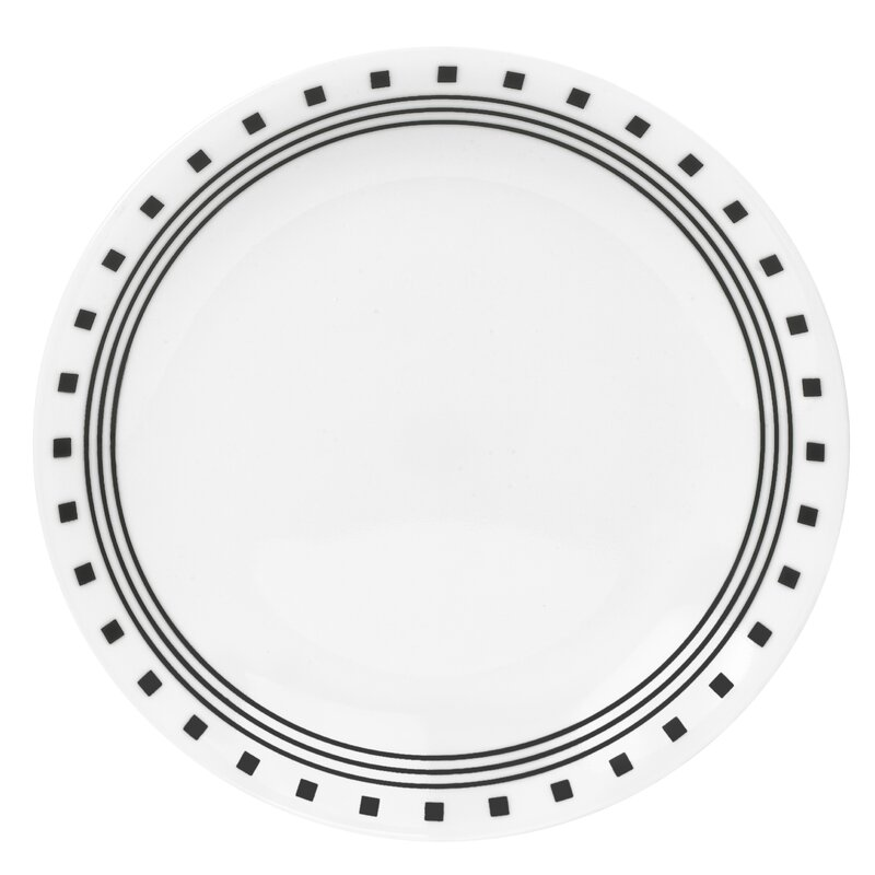 Set Of 6 Plates Corelle Livingware Luncheon Plate Size 8 1 2 Inch Winter Frost White Nayancorporation Com