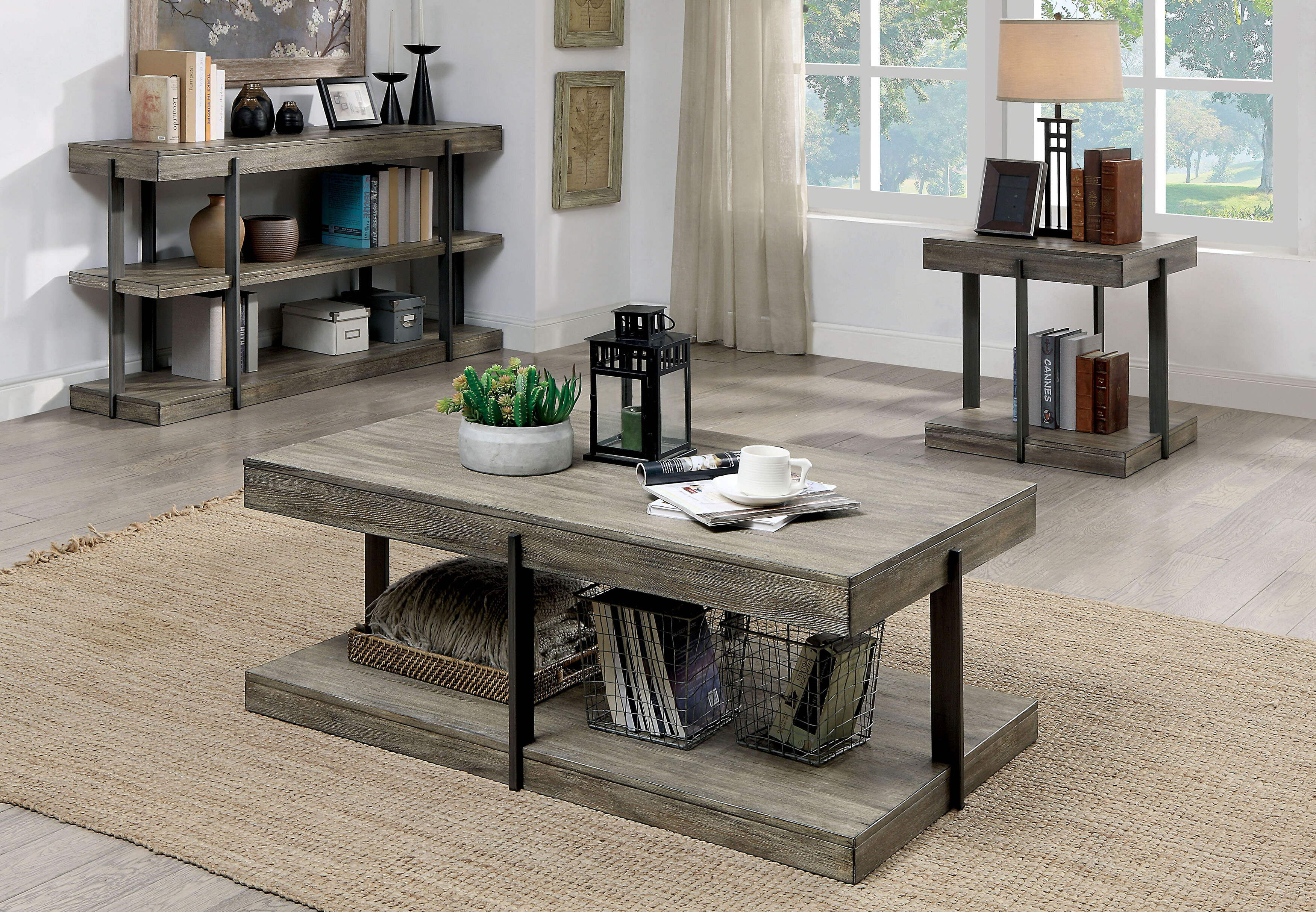 - Gracie Oaks Sorrento 2 Piece Coffee Table Set & Reviews Wayfair