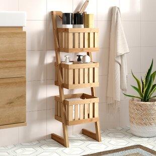 Viviana 23 X 77cm Bathroom Shelves By Natur Pur