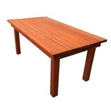 Creedmoor Wooden Dining Table