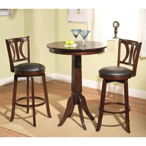 Loami 3 Piece Pub Table Set by Darby Home..