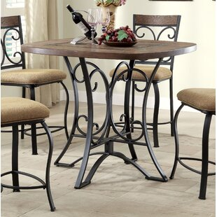 Tyngsborough Counter Height Dining Table by Fleur De Lis Living