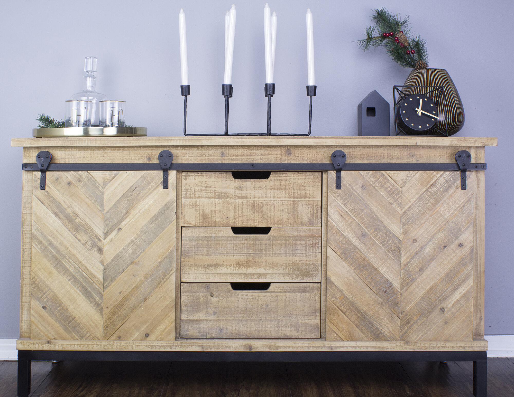 Credenza Definition Furniture : Sliding door sideboards & buffets youll love wayfair.ca