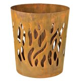Highland Creek Steel Wood Burning Fire Pit by Millwood Pines