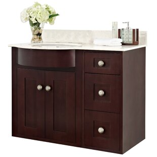 Kester 36 Transitional Wall Mount Vanity Base Set by Darby Home Co