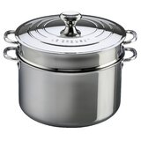 Le Creuset Stainless Steel 9 Qt. Stock Pot with Lid byLe Creuset