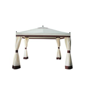 Volz 3m X 3m Metal Patio Gazebo By Sol 72 Outdoor