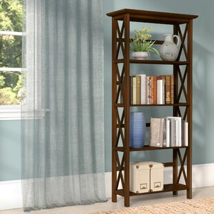 Hitz Standard Bookcase by Three Posts
